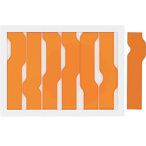 Jigsaw Wave Puzzle 7 by Yuu Asaka - Orange Clear Acrylic Puzzle - Level 9 - Extremely Difficult