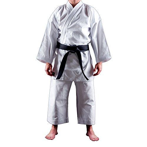Uniforme Karate Gi Shuto Okinawa | Karategi Blanco | Kimono Karate | 14 Onzas | 160 cm