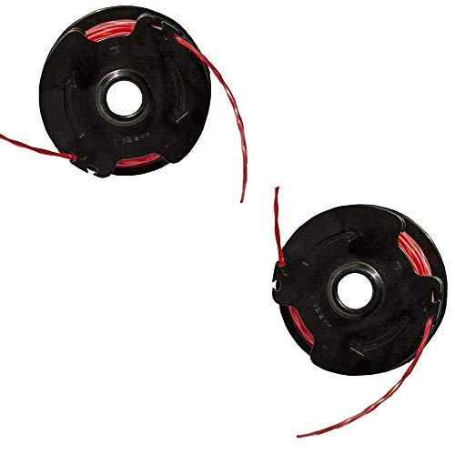 Ikra 11022193 Ersatzspule 2er-Set Fadenspule für Rasentrimmer 350 DEA und IGT 500, 2 Stück