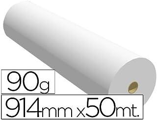 Sprintjet 7910509B - Papel reprografía para plotter, 914 mm x 50 m ...