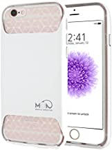 Mobile Monster Cell Phone Case for iPhone 6 Plus/6s Plus - Retail Packaging - White