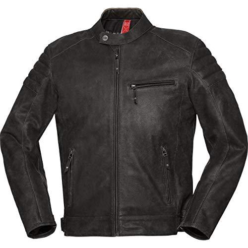 IXS Motorradjacke mit Protektoren Motorrad Jacke X-Classic LD Jacke Cruiser schwarz 58, Herren, Chopper/Cruiser, Sommer, Leder