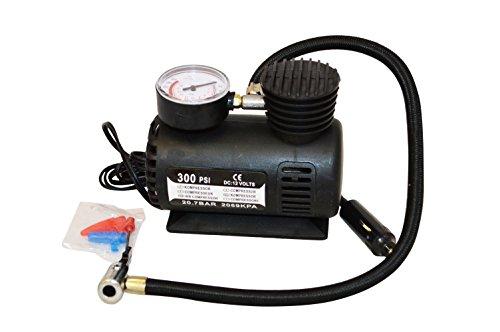12 V rapide compresseur d'air & Vérification pression Jauge – 300 psi – Pneu, voiture, van, vélos, jouets, Sports, etc. – Livraison gratuite