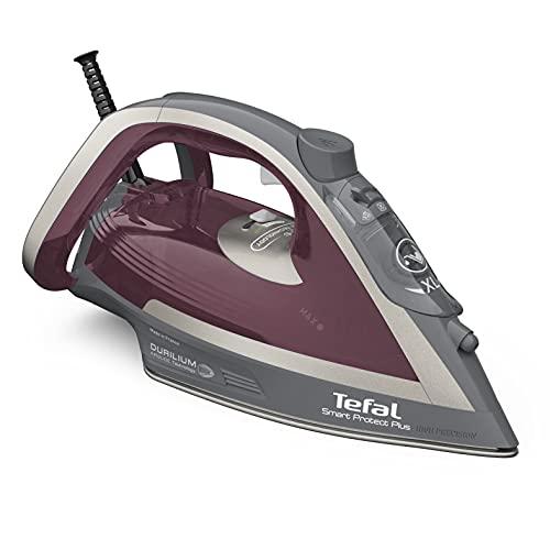 Tefal FV6870 Smart Protect Plus Ferro da Stiro a Vapore, Rosso/Grigio