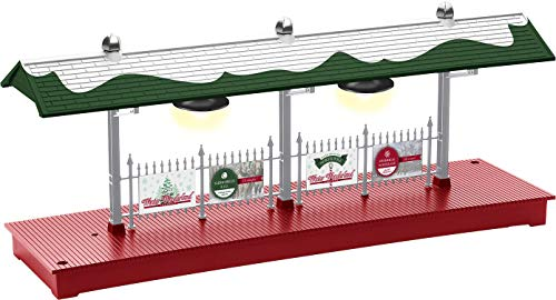 Lionel Trains - Winter Wonderland Plug-Expand-Play Station Platform, O Gauge