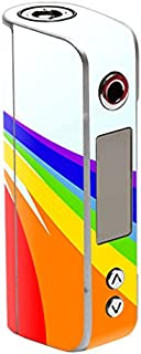 MightySkins Skin Compatible with Sigelei Spark 90W TC – Rainbow Flood | Protective, Durable, and Unique Vinyl Decal wrap Cover | Easy to Apply, Remove, and Change Styles | Made in The USA