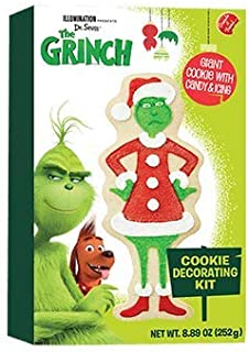 Create A Treat Dr. Seuss' The Grinch Cookie Decorating Kit
