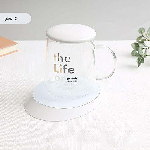 NoNo verwarming Coaster warmteoverdracht vermogen mini-draagbare elektrische pad kopverwarmer elektrische kopjesverwarmer drankverwarmer desktop beker verwarmer verwarmer voor thee koffie melk koffiewarmer