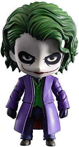 ZYDPDJZM-HPJ Muñeca The Dark Knight: The Joker Nendoroid Villains Edition Figura de acción Alta 10CM (3.9Inches) GFA8