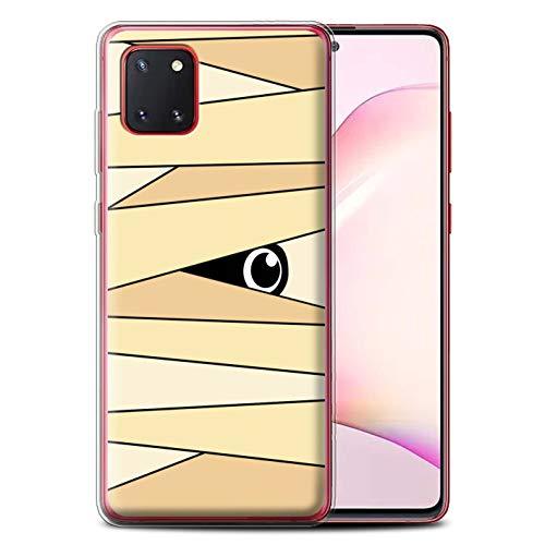 Stuff4 Gel TPU Hülle/Hülle für Samsung Galaxy Note 10 Lite 2020 / Mumie Muster/Halloween Zeichen Kollektion