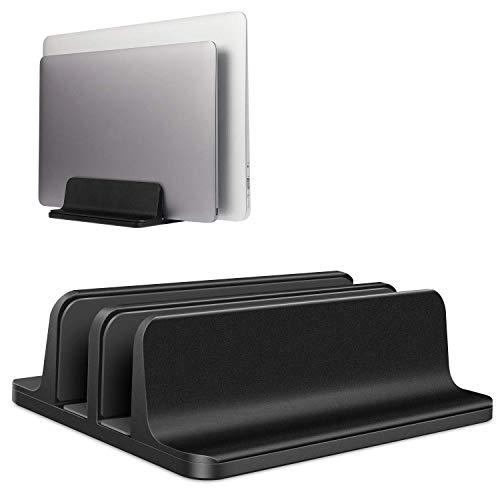 Verticale Laptop Stand Verstelbare Basis Dubbele Vloer Beschikbaar Om Uw Ipad/Iphone/Boek Multi-Functie Opslag