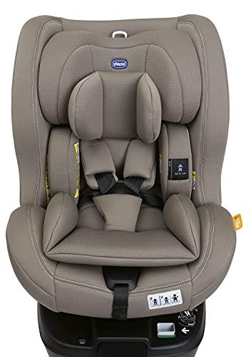 Seat3Fit i-Size Desert - Silla de coche para coche, color gris