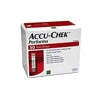 Accu-Chek Aviva Plus Blood Glucose Test Strips 100 Count