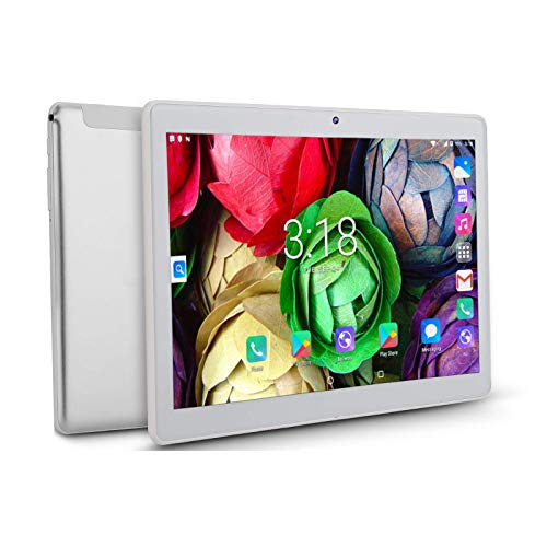 """10"""" Tablet with 2GB RAM 32GB Storage Android 9.0 Pie, 10.1 inch IPS HD Display, Android Tablet with Case/Stylus, Quad-Cord Processor, Wi-Fi, Bluetooth"""