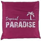 Bada Bing Outdoor Kissen Tropical Paradise Pink Dekokissen Ca. 45 x 45 cm Kissen Garten Deko 39