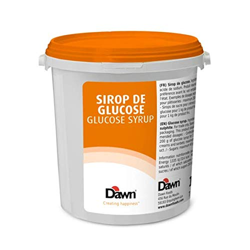 Glucose Syrup 15.4lb. Pail by Dawn Foods (Sirop de Glucose) Baking, Dessert Making, Pastry Chef Essentials
