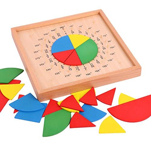 Tauzveok Enseñanza de Las Matemáticas SIDA Ronda Puntuación Consejo Profesional Versión niños de Kinder Montessori educación temprana Juguetes educativos,Natural