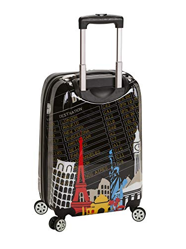 Rockland Departure Hardside Spinner Wheel Luggage Set, Carry-On 20-Inch