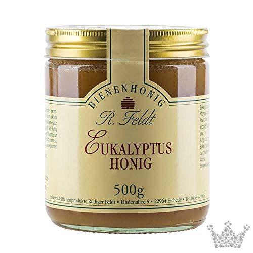Eukalyptus Honig, mild-würziger Wald Honig, nicht wie Bonbons, mit karamelliger Note, 500g