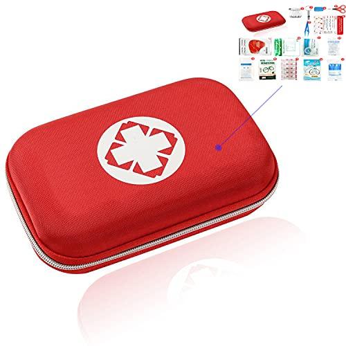 kit primeros auxilios-botiquin de primeros auxilios mini bolso médico portátil de viaje, bolsa de almacenamiento, bolsa de senderismo, accesorios para exteriores, bicicleta y viaje