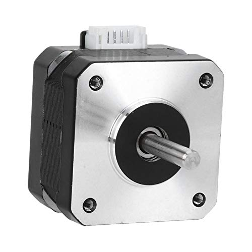 SALUTUYA Electric Motor Stepper Motor 4 Pin Cable 3D Printer Accessories 17HS2408S Stepper Motor Printer Motor for Cutting Machine for Polishing Machine