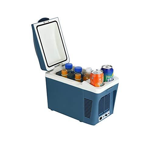 HSJWOSA Refrigerador Portable Mini refrigerador del Coche Refrigerador de Estudiantes compartida de refrigeración Caja táctil Congelador silencioso automático Nevera