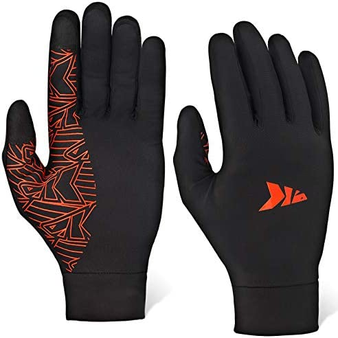 KastKing Morning Frost Liner Gloves Thermal Touch Screen Running Glove Liners L product image