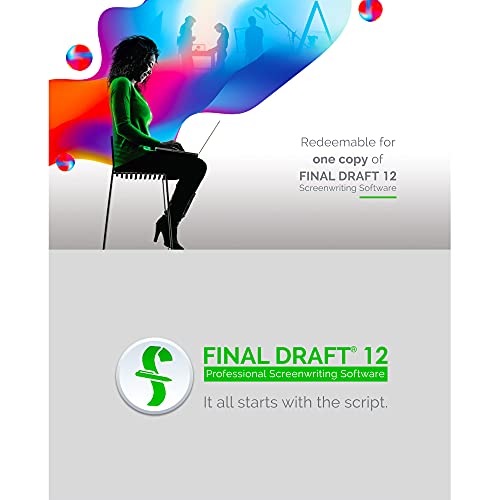 Final Draft 12 - Professional Screenwriting Software for Television, Film, Stage, & Graphic Novel Scripts - Program Available for Mac and PC Platforms