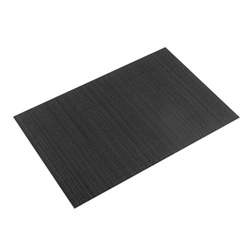 dljztrade 23x17x0.3cm Full Carbon Fiber Plate Anti-Corrosie Panel Sheet Multipurpose (1st)