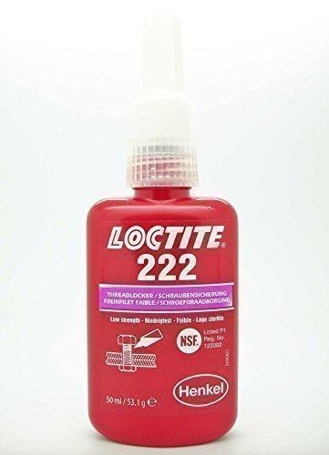 23 opinioni per Loctite 222 x 50ml Bloccafiletti Blocca Filetti Stile Originale EU