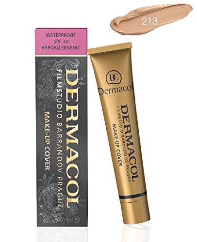 Dermacol Make-up Cover - impermeabile 30g ipoallergenico Fondazione 100% originale garantito (213)