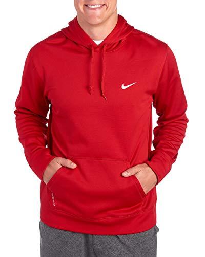 Nike Mens Club Swoosh Hoodie (Red, XX-Large)