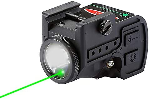 Lasercross 2 in 1 Tactical Laser Sight Flashlight Combo Magnetic Charging Rechargeable Strobe product image