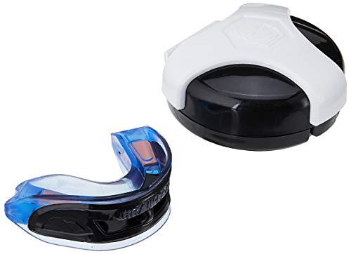 Brain-Pad 3XS Adult Ble-Black Protège-Dents à Double Arche Bleu/Noir Taille Unique