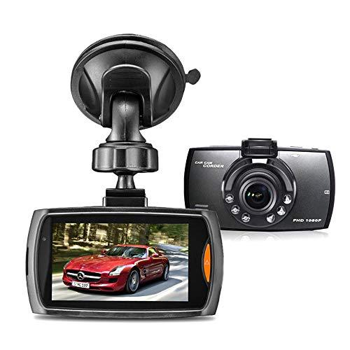 "SHENGY 2.7\""1080P FHD 6 IR LED Night Vision Dash Cam, Dashboard Camera Recorder mit High Sensitive G-Sensor, Motion Detection, 170°Wide Winkel"