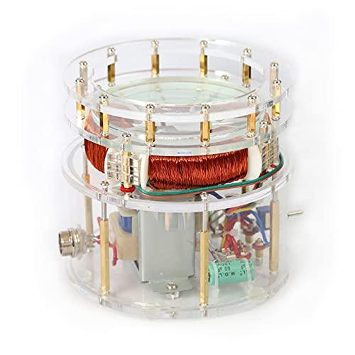 Bobina Tesla de rotación magnético para enseñanza, Juguete Educativo de Ciencia, Producto Creativo de decoración tecnológica