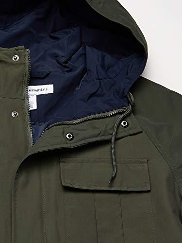 Amazon Essentials Chaqueta Ligera para montaña. Cotton-Lightweight-Jackets, Verde Oliva, XS