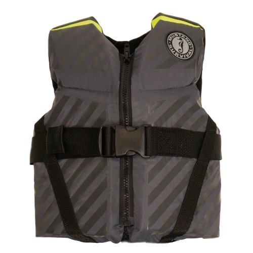 Purchase Mustang Survival Lil' Legends 70 Flotation Vest, Gray/Fluorescent Yellow Green, Child