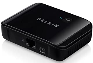Belkin Smart TV Link Universal WLAN Internet Adapter (1 Port) schwarz (B0063CLXEQ) | Amazon price tracker / tracking, Amazon price history charts, Amazon price watches, Amazon price drop alerts