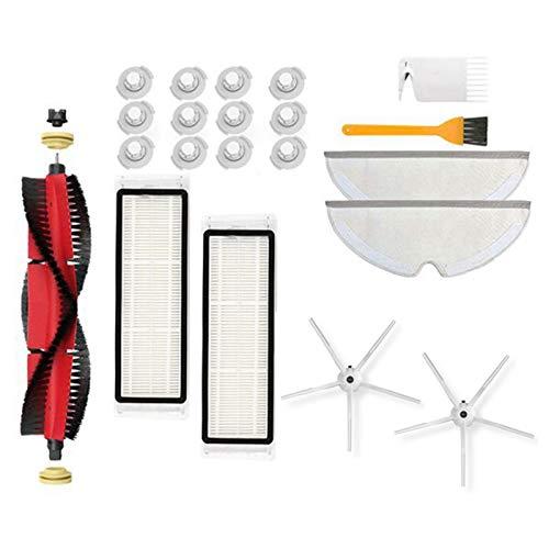 Nrpfell para S6 S60 S65 S5 S55 T6 S55 Accesorios Piezas de Aspiradora Filtro HEPA Lavable Cepillo Principal Cepillo Lateral