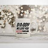 Taza de café inspirada en Tony Stark Iron Man, diseño de Papá We I Love You 3000, de Marvel...