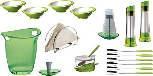 BUGATTI - Set van 17 stuks glamour - groen