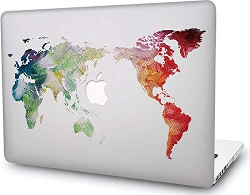 RQTX Laptop Case para MacBook, Universo Anime Cartoon Hard Cover para el más Nuevo Macbook Pro 13 Pulgadas A2251 A2289 (Versión 2020) - Mapa de Pintura