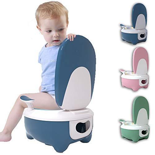 PUDDINGT® Bebe Orinal para Infantil Ninos Water WC Bater Orinales Vater Inodoro...