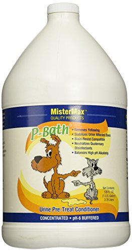 Mister Max P-Bath Urine Pre Treat Conditioner, Gallon Size