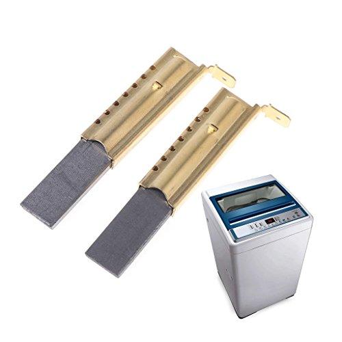 Folewr 1 par de cepillos útiles para lavadora, motor de carbono, L94MF7, compatibles con Whirlpool