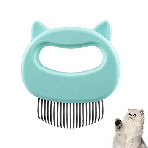 Massagekamm für Haustiere, Katzen, Hunde, Muschelkamm, entspannender Kamm, Fellpflege, Haarentfernung, Reinigungsbürste