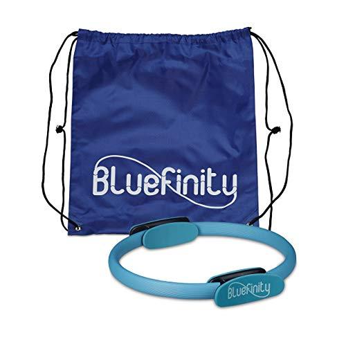 Bluefinity Pilates Ring, Doppelgriff, Gepolstert, D: 39 cm, Fiberglas, Schaumstoff,...