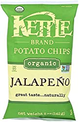 Kettle Foods, Chip Potato Jalapeno Organic, 5 Ounce