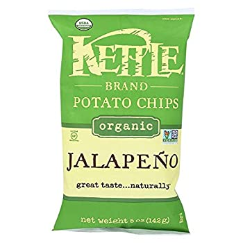 Kettle Foods Chip Potato Jalapeno Organic 5 Ounce